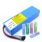 Lithium Battery 18650 60V 12AH lithium ion rechargeable scooter baterya pack