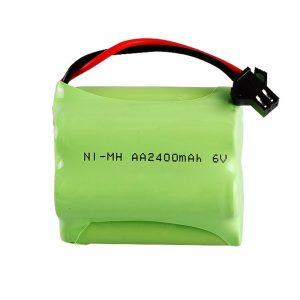 Ang baterya nga NiMH Rechargeable AA2400 6V