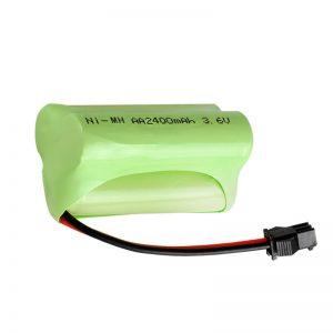 Ang baterya nga NiMH Rechargeable AA2400 3.6V
