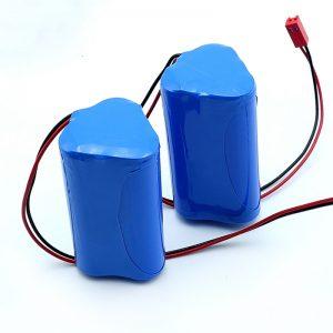 Rechargeable Li-ion 3S1P 18650 10.8v 2250mah Lithium ion nga baterya nga pakete alang sa medikal nga aparato