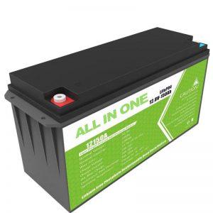 Daghang Kapasidad 12.8v 150ah Lithium Battery Alang sa Home Solar Storage