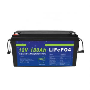 Ang LiFePO4 Lithium Battery 12V 180Ah alang sa Solar Energy Storage Systems alang sa Electric Bikes