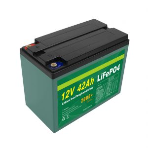 Pagpadayon nga Gipahiangay nga Solar 12v 40ah 42ah Lifepo4 Cell Lifepo4 Battery Pack Uban sa BMS