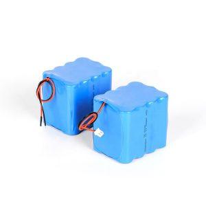 Gipahiangay nga rechargeable lithium nga baterya 18650 nga taas nga paglabas 3s4p 12v li ion nga baterya nga baterya
