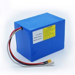 Lithium Battery 18650 48V 20.8AH alang sa electric bikes ug e bike kit