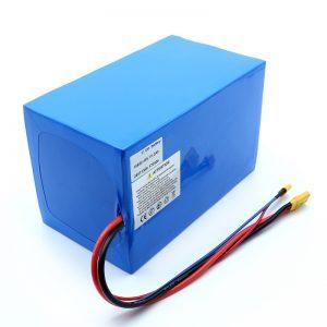 Lithium Battery 18650 48V 51.2AH 24v 30V 60V 15ah 20Ah 50Ah Li-ion Batteries 18650 48V Lithium ion Battery Pack alang sa Electric Scooter