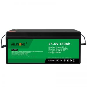 25.6V 150Ah LiFePO4 Lead Acid Replacement Lithium ion Battery Pack 24V 150Ah