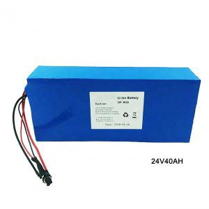 Electric Bike Bike 24 Volt Lithium Battery 24V 40Ah NMC Li Ion Battery Pack Rechargeable nga baterya ion lithium
