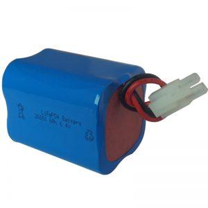 lifepo4 solar light nga baterya 6.4v 6ah 2S2P portable