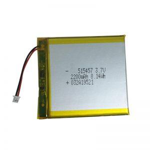 3.7V 2200mAh Polymer lithium nga baterya alang sa mga smart device sa balay