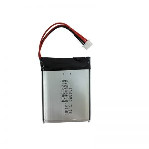 3.7V 2300mAh Mga instrumento sa pagsulay ug kagamitan nga polymer lithium nga baterya AIN104050
