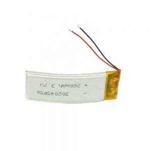 Ang LiPO Customized Battery 302045 3.7V 260mAh