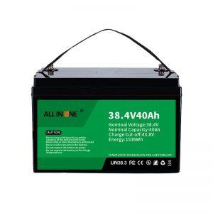 8.4V 40Ah Lithium Iron Phosphate Battery alang sa VPP / SHS / Marine / Vehicle 36V 40Ah