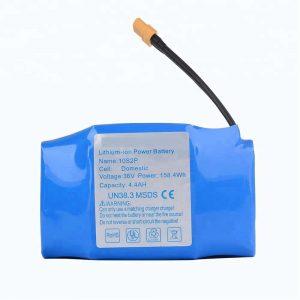 Nag-una nga pagbaligya sa 36v 4400mah 10s2p hoverboard lithium battery pack