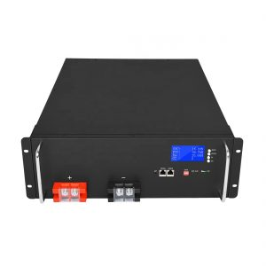 Taas nga Energy Lithium Ion Battery 48V 50Ah LiFePO4 alang sa Solar Energy Storage Systems