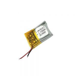 Taas nga kalidad nga baterya sa lithium polymer 3.7V 50mAh 581013 nga baterya