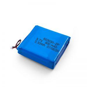 Custom Rechargeable 3.7V 450 530 550 700 750 800 900 900Mah Li-Po Lipo Battery