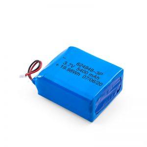 LiPO Rechargeable Battery 624948 3.7V 1800mAH / 3.7V 5400mAH