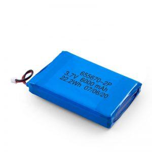 3.7v / 7.4v 3000mah li lithium polymer nga baterya 3.7v nga adunay 3000mah