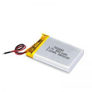 Ang China Wholesale 3.7V 600Mah 650Mah Mini Li-Polymer Lithium Battery Rechargeable Batteries Pack Alang sa Dulaan nga Kotse