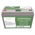 TANAN SA USA ka lawom nga siklo nga 12V100Ah LiFePO4 Baterya nga adunay intelihente nga BMS alang sa panimalay nga Energy Storage Syste