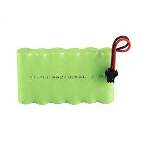 Ang baterya nga NiMH Rechargeable AA 2400mAh 7.2V