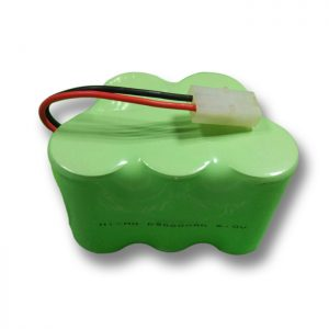 NiMH Rechargeable Battery D9000mAH 6V