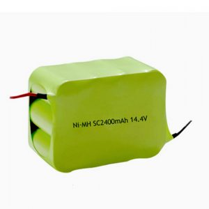 Ang baterya nga NiMH Rechargeable SC 2400mAH 14.4V