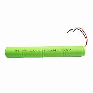 NiMH Rechargeable Battery SC 3600mAH 4.8V
