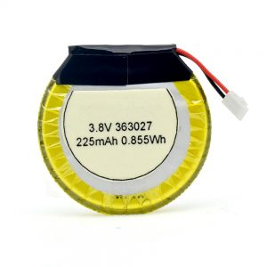 LiPO Customized Battery 363027 3.7V 225mAH