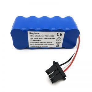 12v ni-mh nga baterya alang sa vacuum cleaner TEC-5500, TEC-5521, TEC-5531, TEC-7621, TEC-7631